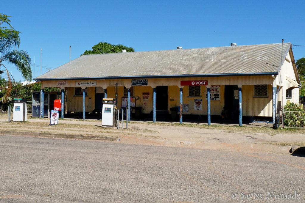 Der kleine Ort Coen auf der Cape York Halbinsel