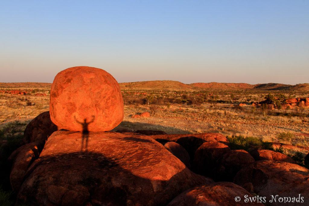 Die Devils Marbles oder auch Karlu Karlu in Australien