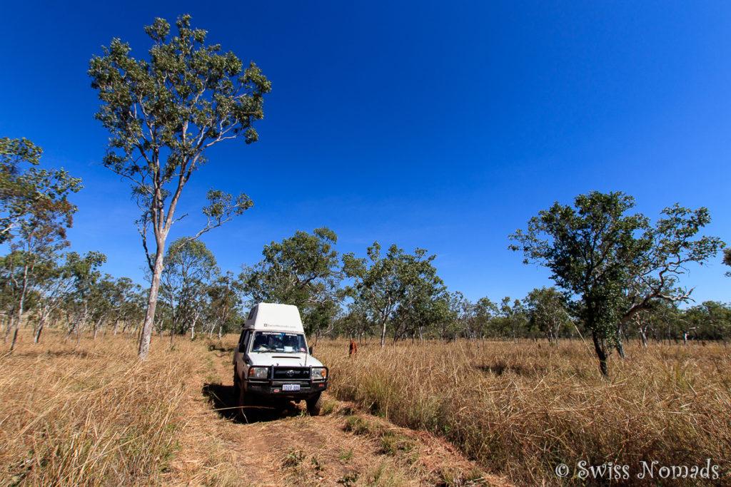 Der Gregory Nationalpark verspricht 4WD Abenteuer