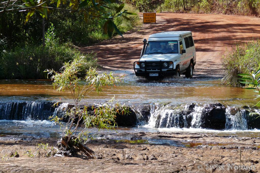 Die Isabella Falls auf dem Weg zum Cape York