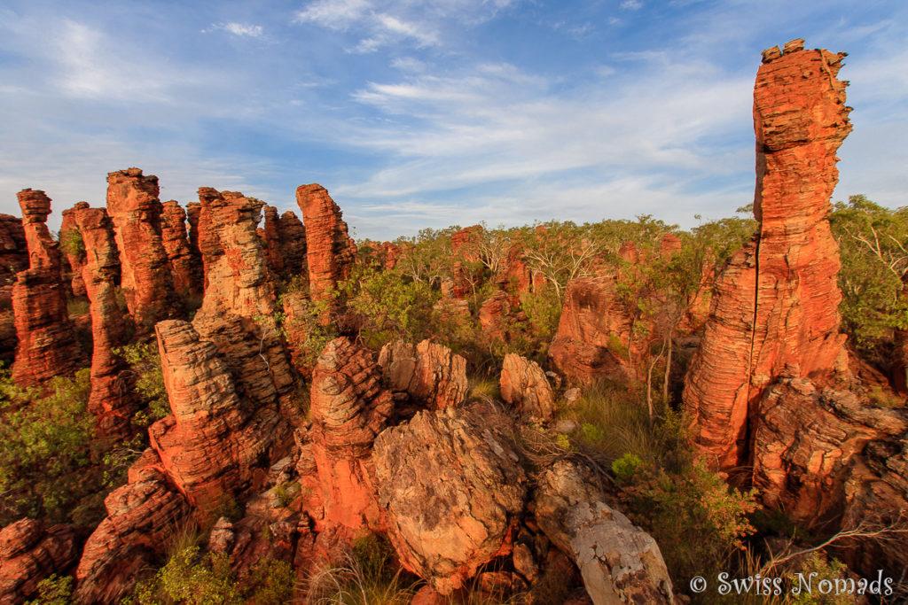 Atemberaubende Felsformationen im Limmen Nationalpark