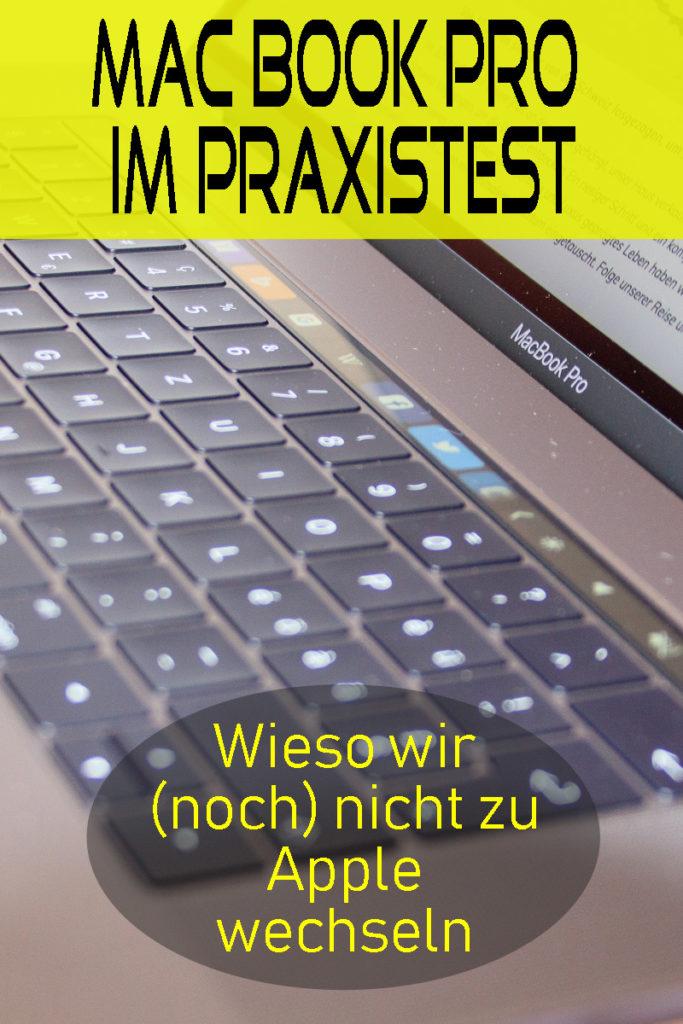 Wir haben das Mac Book Pro einem Praxistest unterzogen