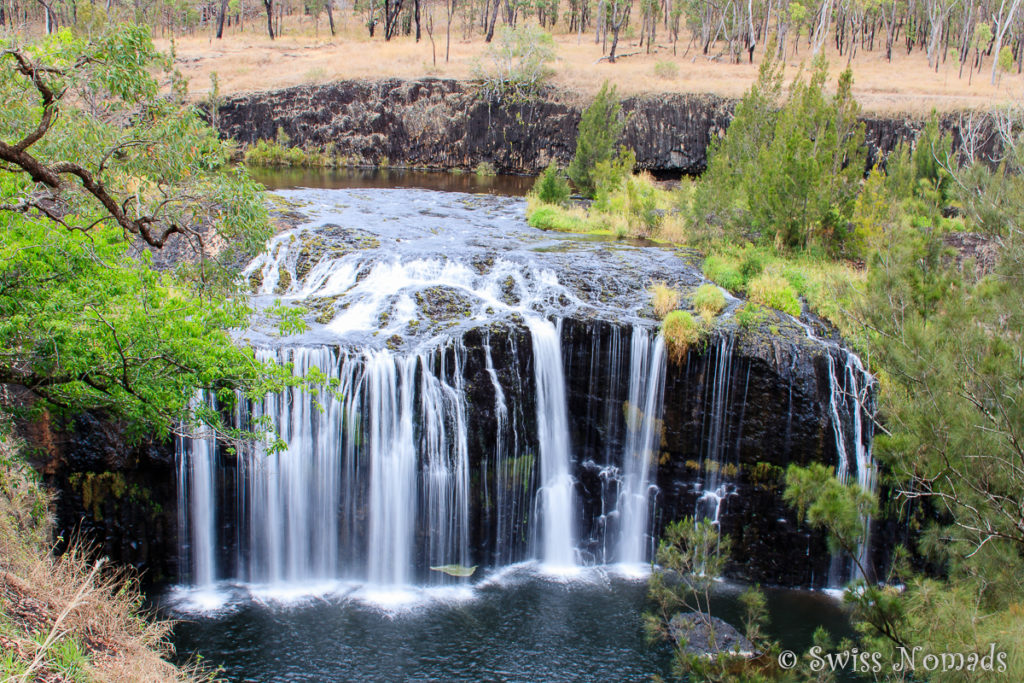 Die Millstream Falls bei Ravenshoe am Savannah Way