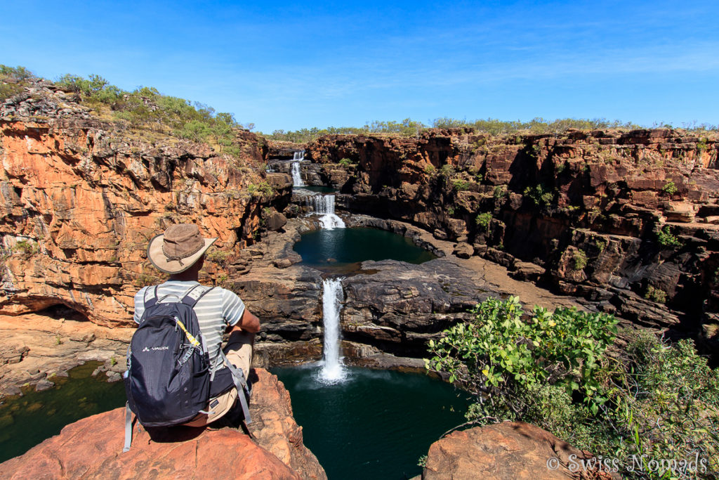 Die Mitchell Falls entlang der Gibb River Road