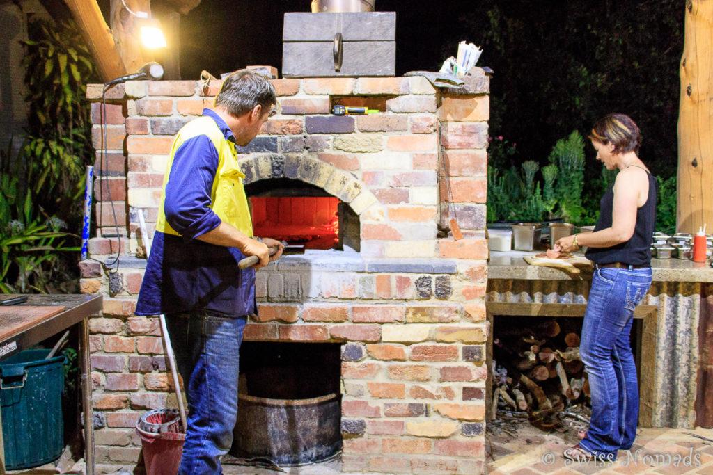 Die Pizza Night auf der Pinnarendi Station ist die Wucht