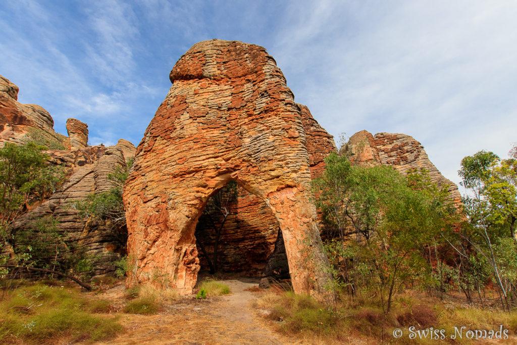 Rock Arch in der Western Lost City im Limmen Nationalpark