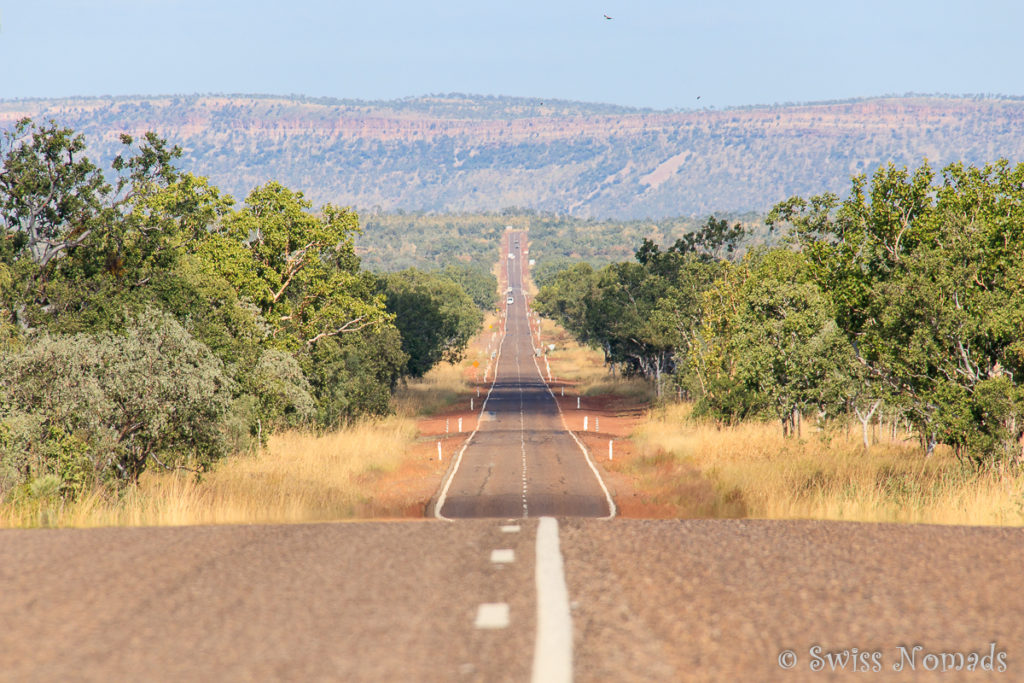 Auf dem Savannah Way in Australien
