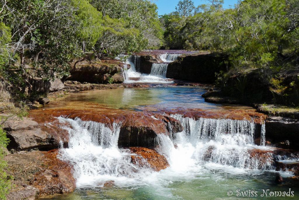 Die Twin Falls auf dem Weg zum Cape York