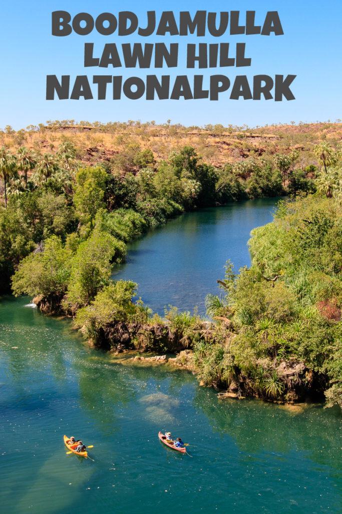 Der Boodjamulla Lawn Hill Nationalpark in Australien
