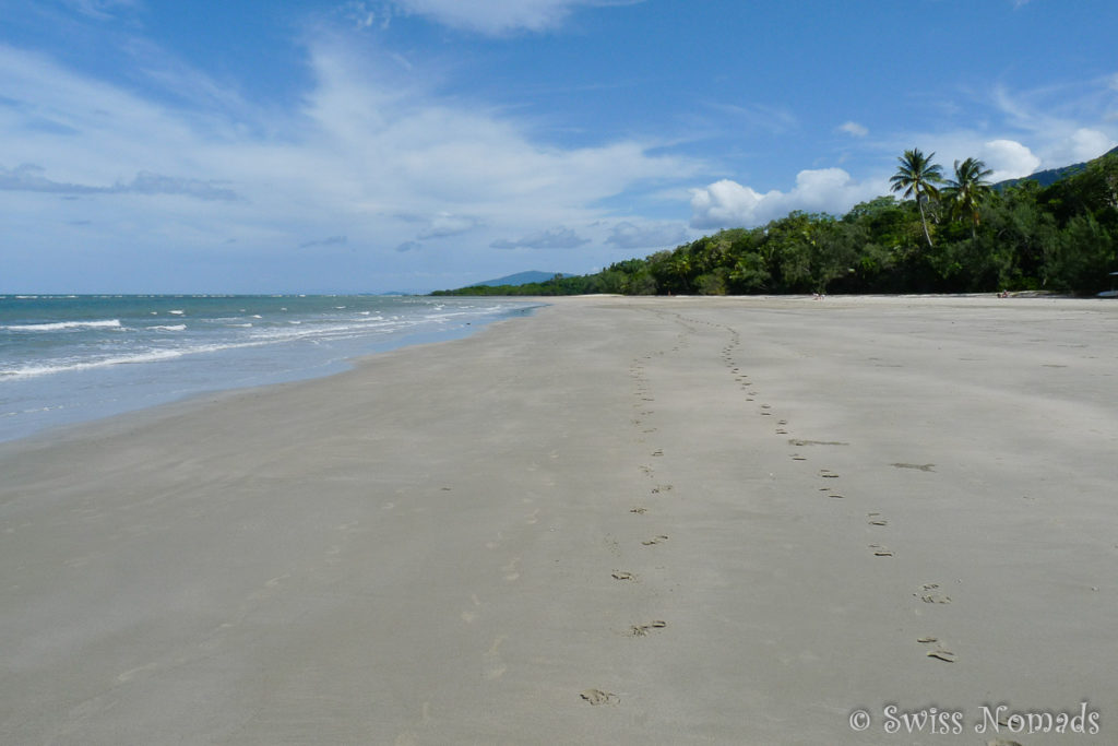 Strand am Cape Tribulation im Daintree Nationalpark