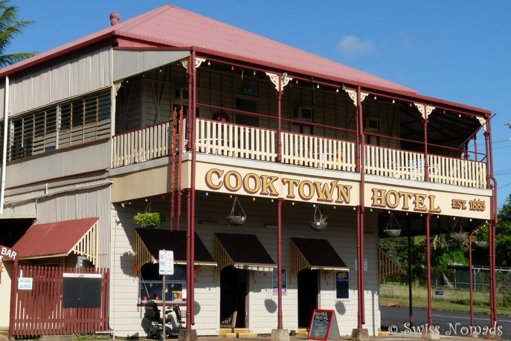 Das Hotel Cape York in Cooktown