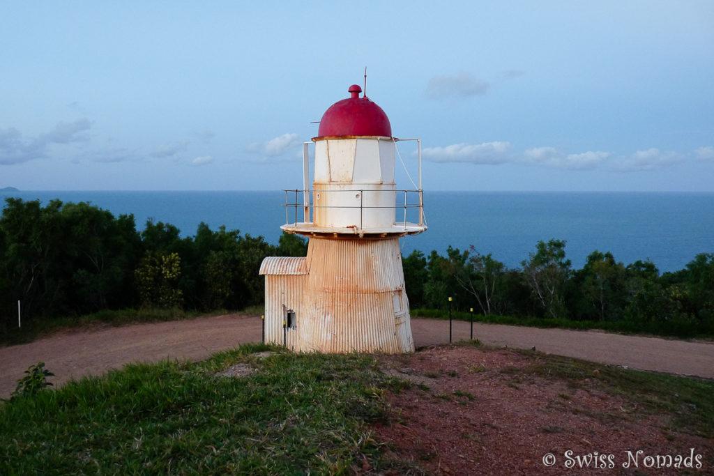 Der kleine Grassy Hill Leuchtturm bei Cooktown