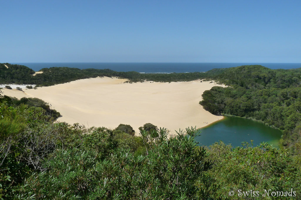 Der Lake Wabby auf Fraser Island
