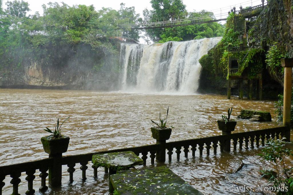 Paronella Park grosser Wasserfall
