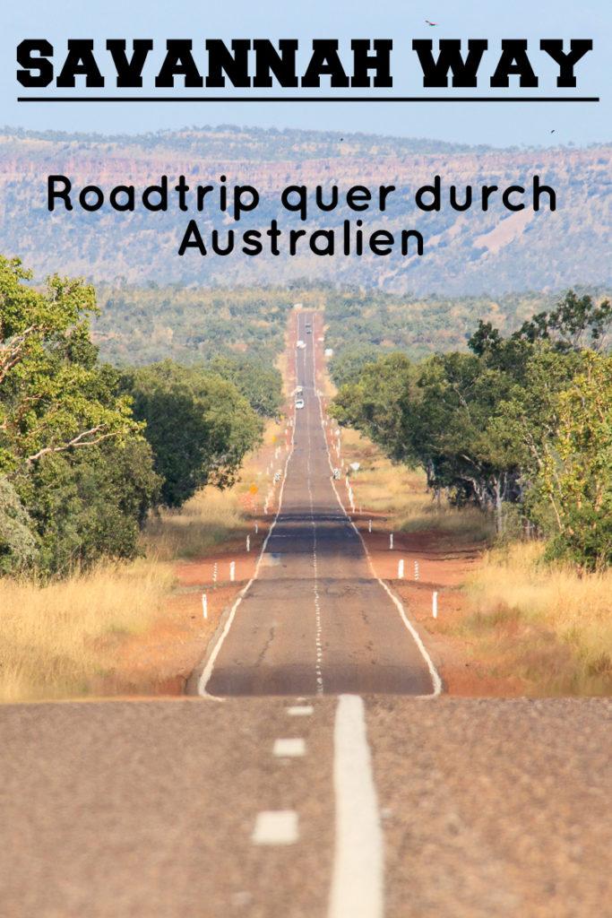 Der Savannah Way in Australien verbindet die Ost-mit der Westküste