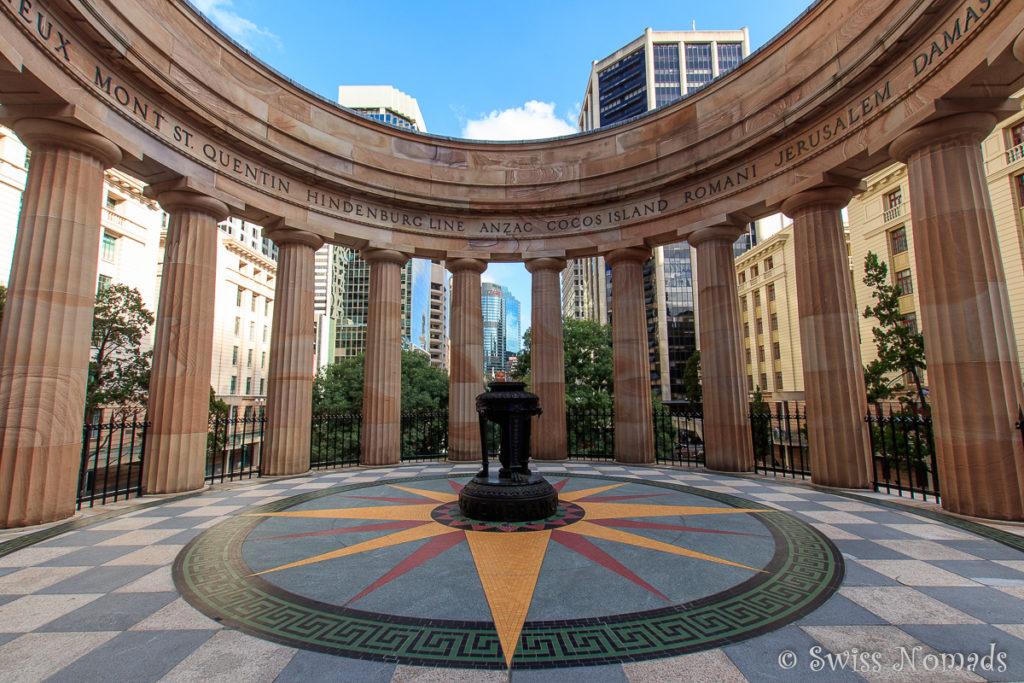 Brisbane Sehenswürdigkeiten Anzac Square