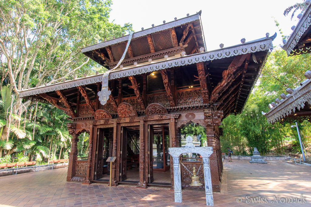 Brisbane Sehenswürdigkeiten Nepalese Pagoda