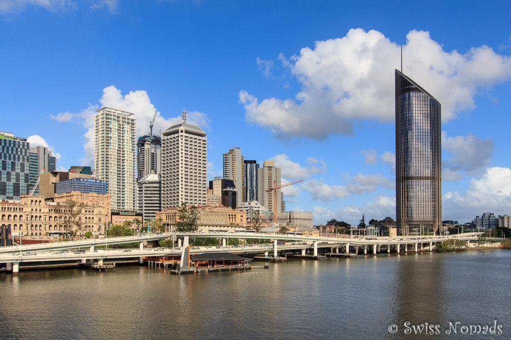 Brisbane Sehenswürdigkeiten Skyline