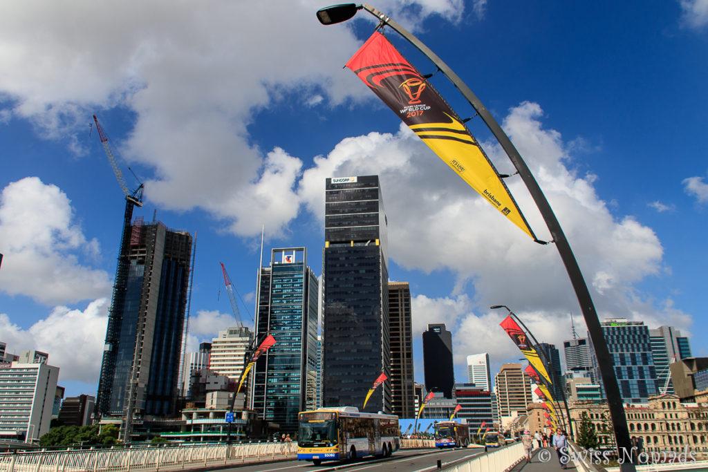 Brisbane Sehenswürdigkeiten Victoria Bridge