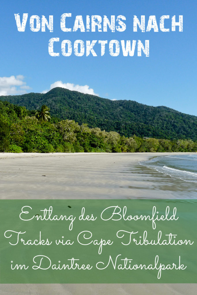 Das Cape Tribulation im Daintree Nationalpark in Australien