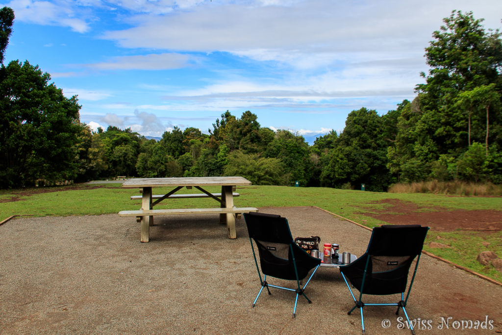 Lamington Nationalpark Green Mountains Camping