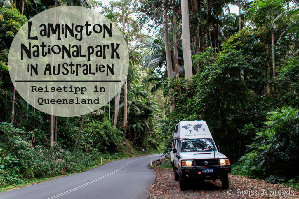 Lamington Nationalpark in Australien