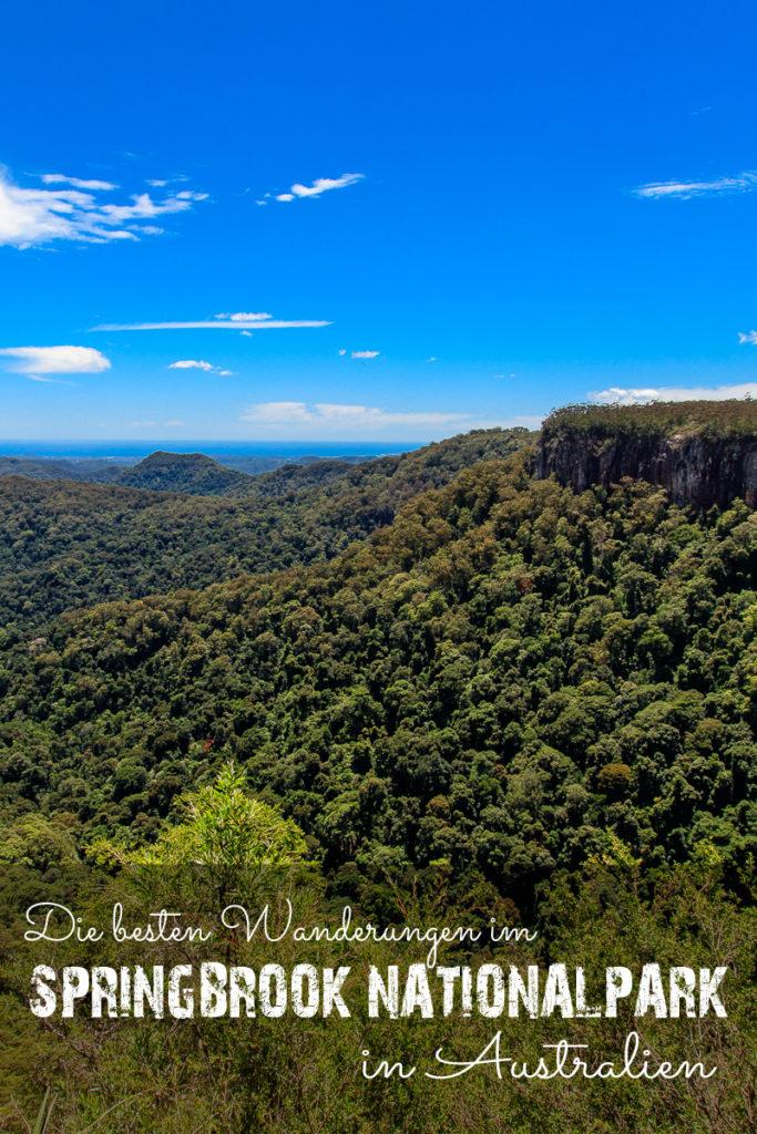 Springbrook Nationalpark in Australien