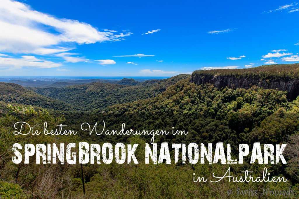 Springbrook Nationalpark in Australien