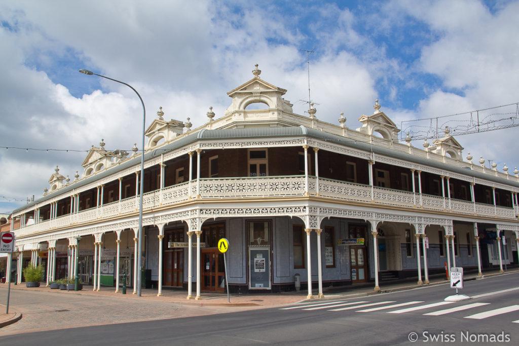 Das historische Imperial Hotel in Armidale