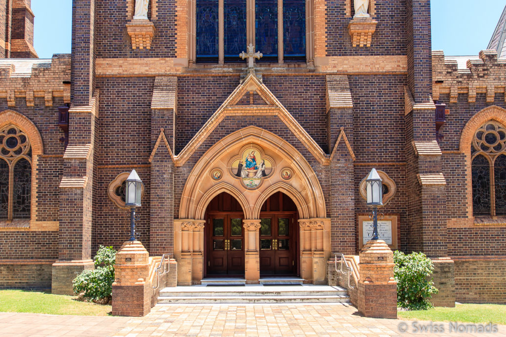 Die St Mary and St Joseph Cathedral in Armidale