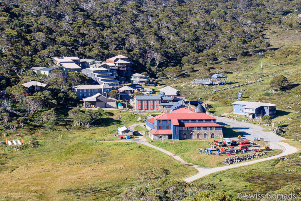 Das Ski Resort Cahrlotte Pass im Mt. Kosciuszko Nationalpark
