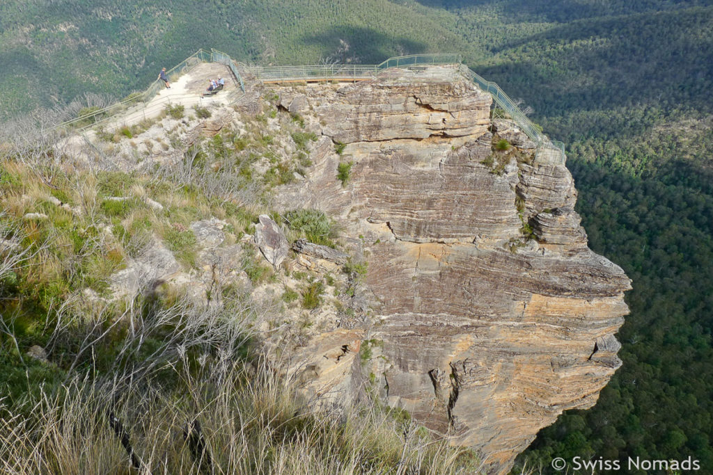 Evans Lookout im Blue Mountains Nationalpark