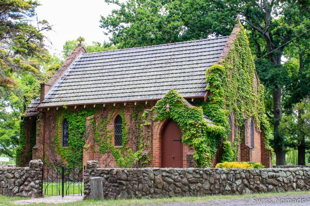 Die Gostwyck Chapel bei Uralla