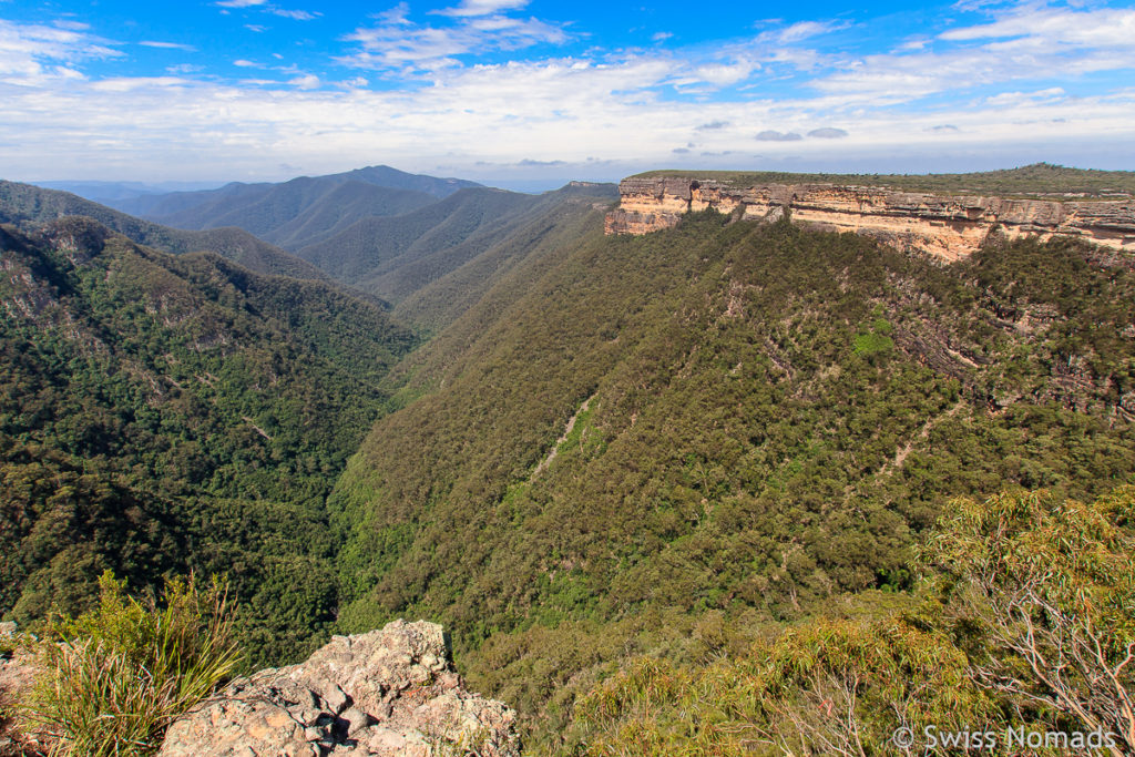 Die Kanangra Walls in den Blue Mountains