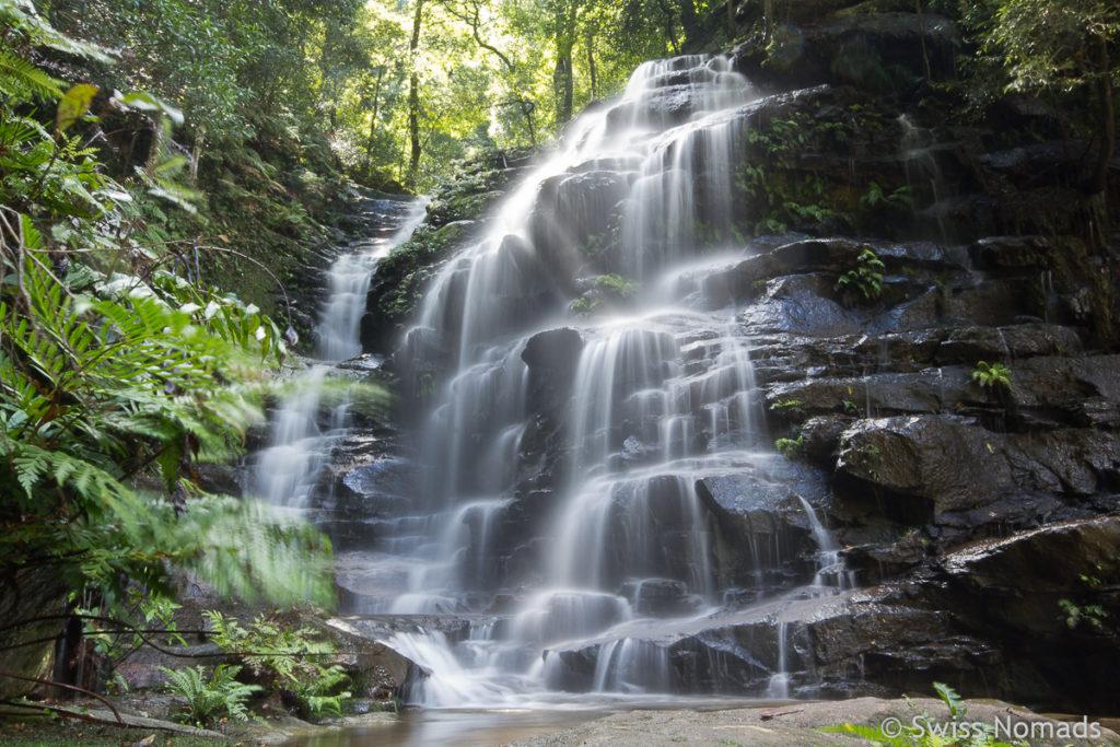 Die Ladore Falls im Blue Mountains Nationalpark