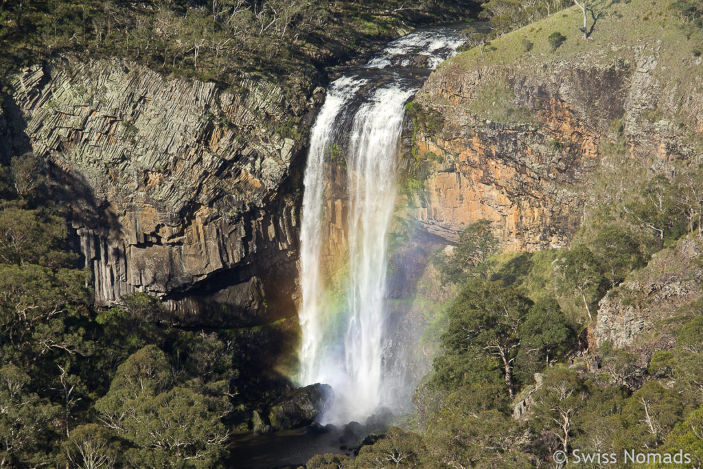 Die Lower Ebor Falls auf dem Waterfall Way