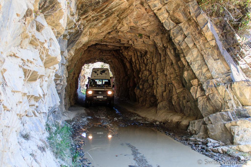 Historischer Tunnel auf der Old Glen Innes Road