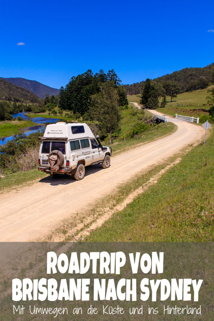 Roadtrip von Brisbane nach Sydney