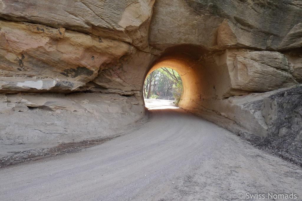 Roadtrip von Sydney nach Melbourne durch den Bullio Tunnell