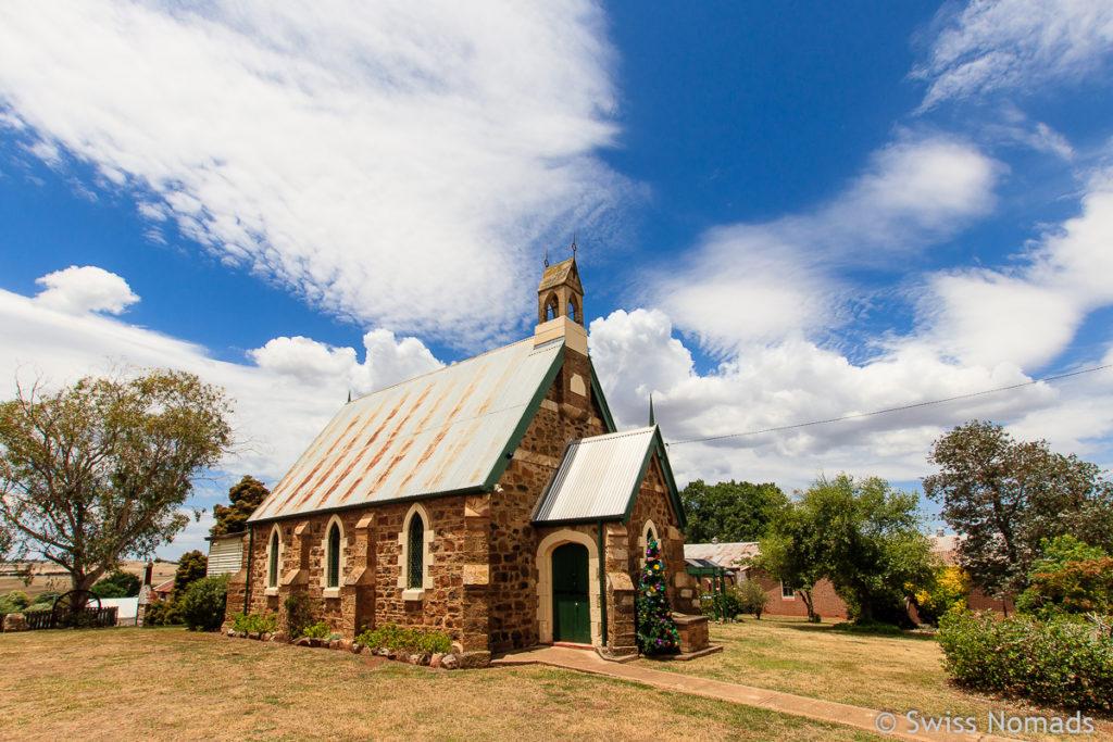 Taralga Kirche auf dem Roadtrip von Sydney nach Melbourne
