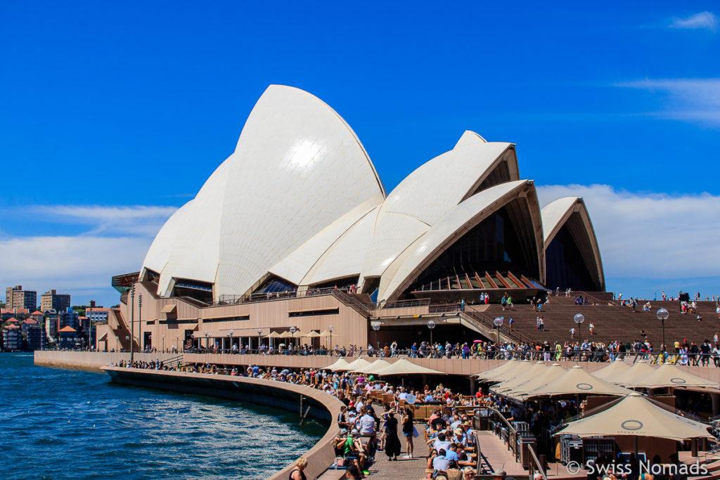 Start des Roadtrips von Sydney nach Melbourne