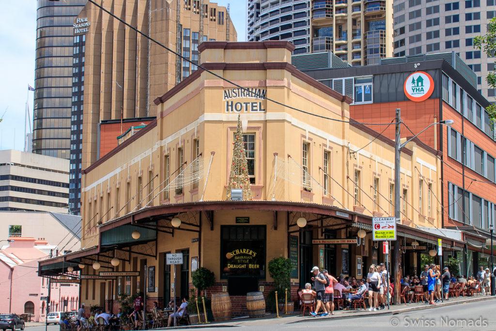 Australian Hotel Sydney Sehenswuerdigkeiten