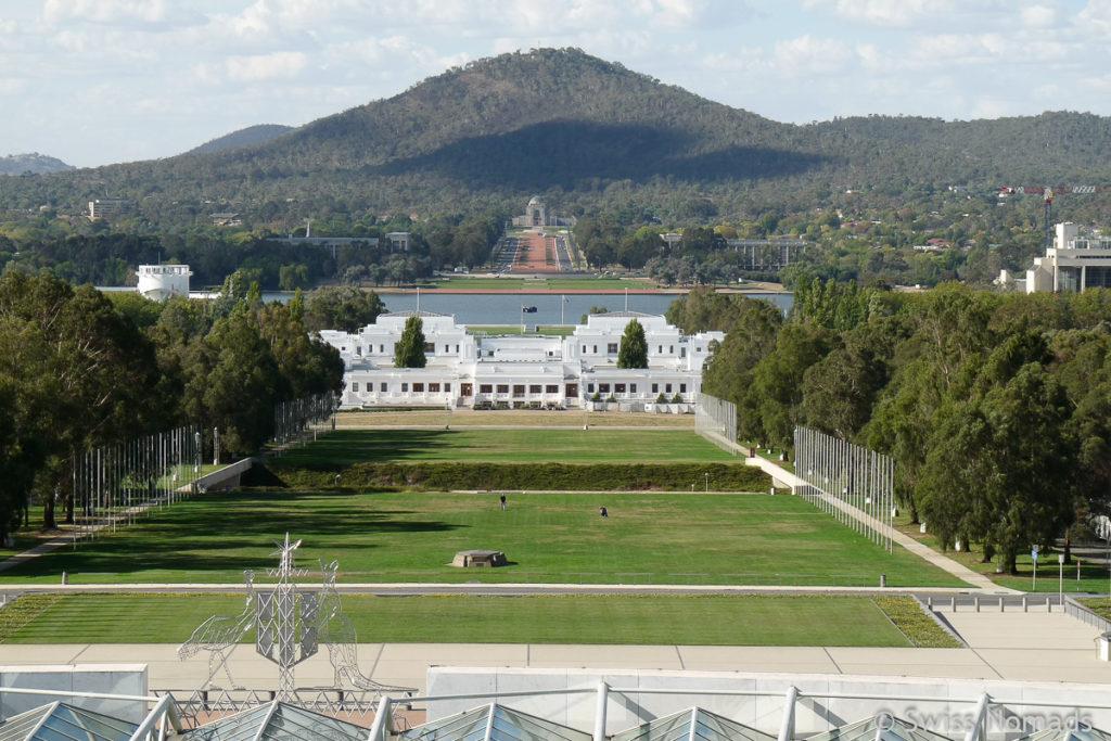 Canberra Hauptstadt von Australien