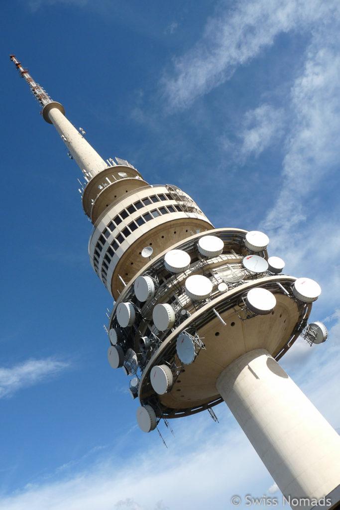 Canberra Sehenswuerdigkeiten Telstra Tower