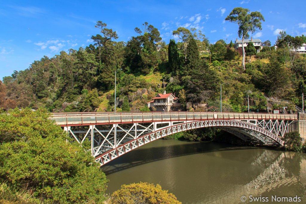 Der Cataract Gorge in Launceston bei unserem Tasmanien Roadtrip