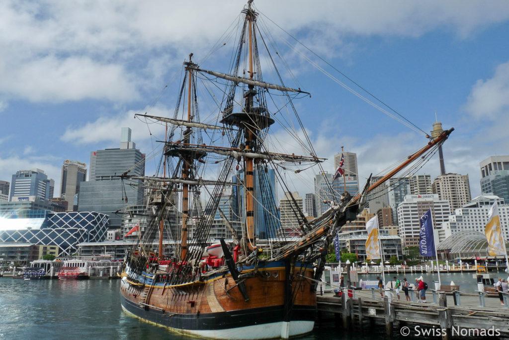 Darling Harbour Sydney Sehenswuerdigkeiten