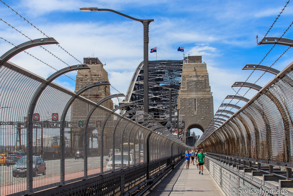 Harbour Bridge Sydney Sehenswuerdigkeiten Australien