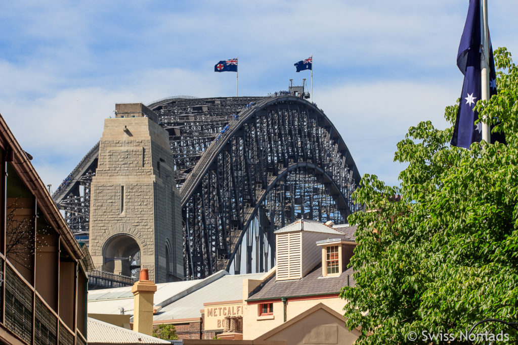 Harbour Bridge Sydney Sehenswuerdigkeiten