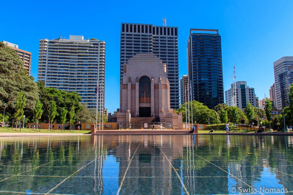Hyde Park Sydney Sehenswuerdigkeiten