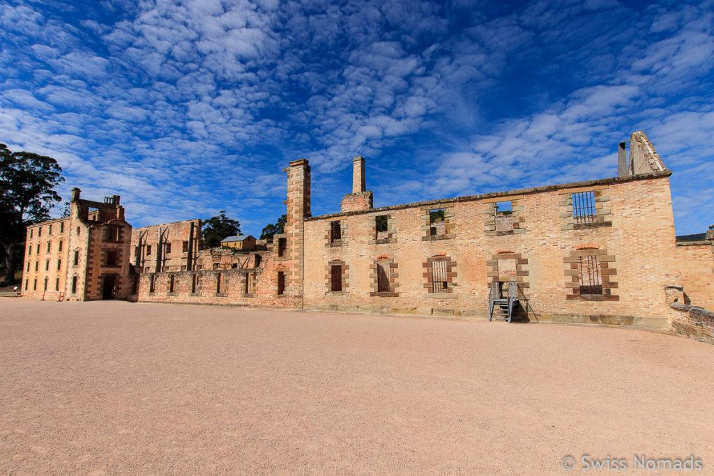 Unser Tasmanien Roadtrip zu den Ruinen von Port Arthur